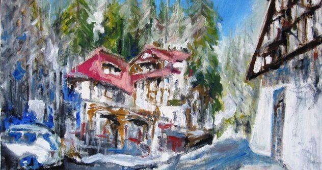 """Casino Sinaia vă invită să admirați expoziția de pictură """"Impresionism"""", semnată de artistul Dan Marian Gelelețu!"""